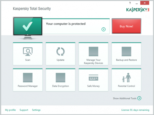 Kaspersky Total Security 2016 Key, Crack File For 1 Year Free Download