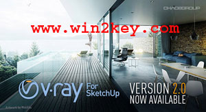 Vray 2.0 For SketchUp 2016 Crack