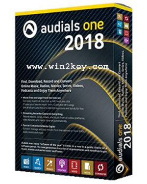 Audials One 2018 License Key + Cracked Is Downlaod Latest Here