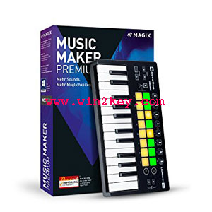 Magix Music Maker Crack V24.1.5.119 Keygen Free Download