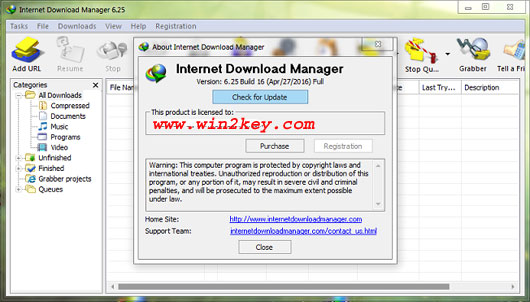 Internet Download Manager 6.25 Build 16