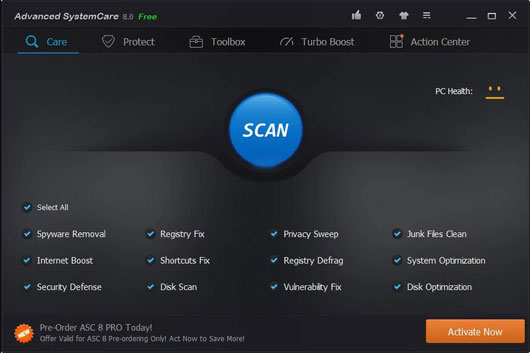 Advanced Systemcare Pro 9.2.0 Crack