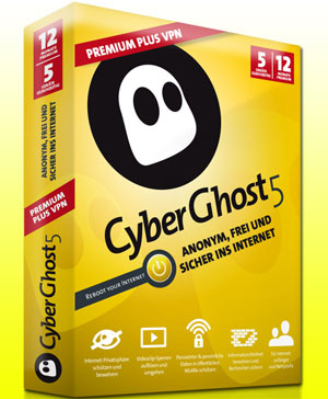 CyberGhost VPN 5 Premium Crack [Activation Serial Key] Download Is Here
