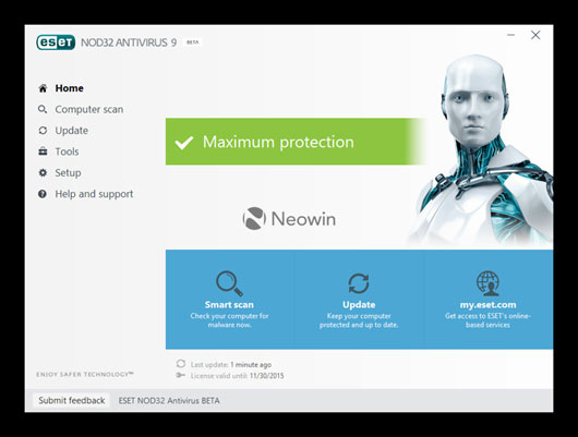 ESET NOD32 Antivirus 9 Serial Key