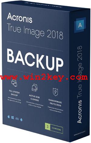 Acronis True Image 2018 Crack + Serial Key Free Download
