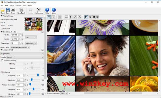 BenVista PhotoZoom Pro Serial Key