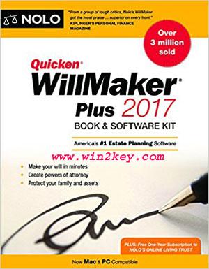 Quicken Willmaker Plus 2017 Serial Key & [Crack + Patch] Downlaod