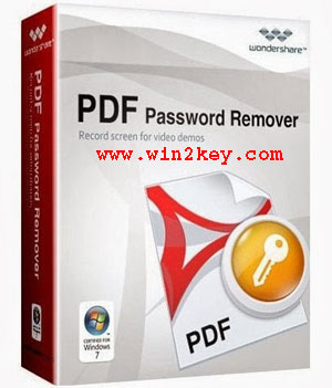 Wondershare PDF Password Remover Crack 1.5.3 Registration Code Download