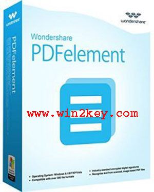 Wondershare PDFElement Crack 5.9.3 Registration Serial Number & Key