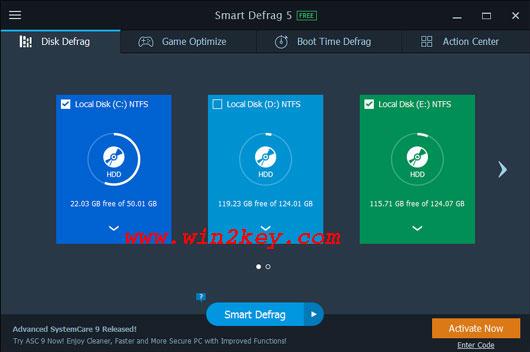 Smart Defrag 5.8 Key