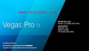 Sony Vegas Pro 13 Crack Only [Patch + Keygen] Download