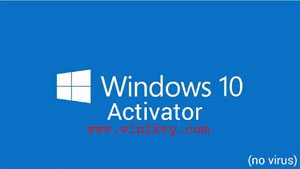 Windows 10 Activator 2018 Free Download Full Version