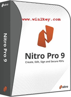 Nitro Pro 9 Crack Plus Serial Keys Latest Version Free Download