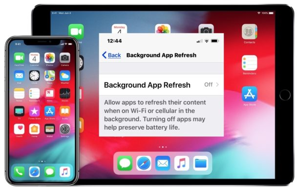 How to disable background app update on iPhone or iPad
