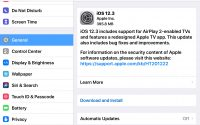 Download iOS 12.3 Update for iPhone and iPad Now [IPSW Links]