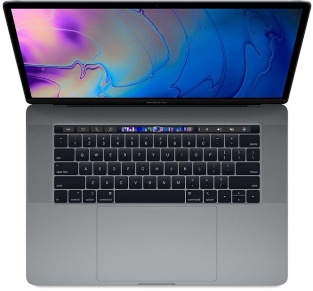 MacBook Pro with Touchpad