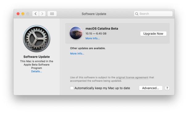Download MacOS Catalina Public Beta