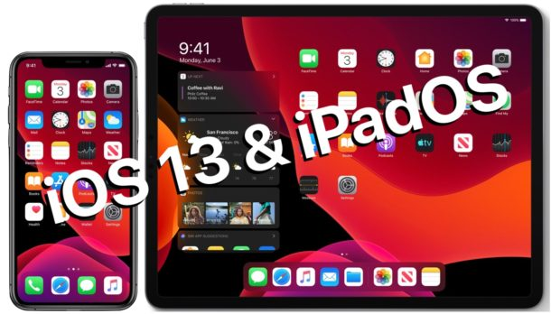 IOS 13 and iPadOS release dates