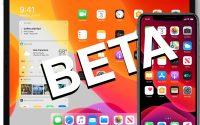 iOS 13 Beta and iPadOS Beta